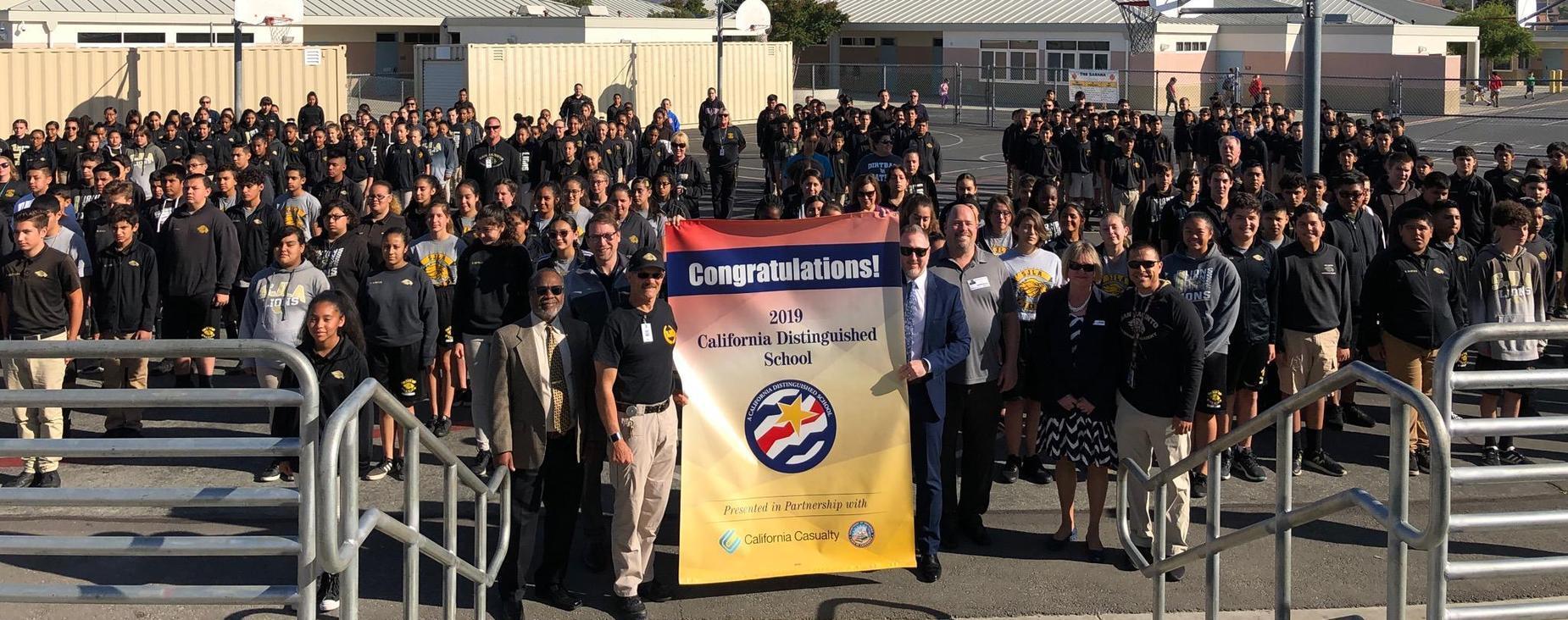SJLA - A California Distinguisehd School