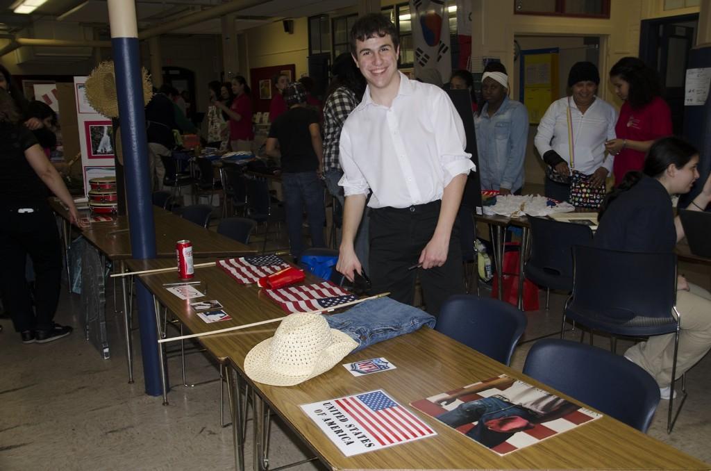 Display Table USA