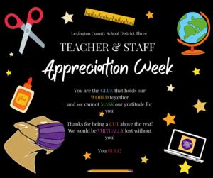 Lexington Three Celebrates Teacher and Staff Appreciation Week