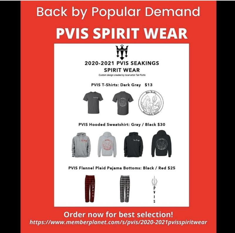PVIS Spirit Wear Available Now Thumbnail Image