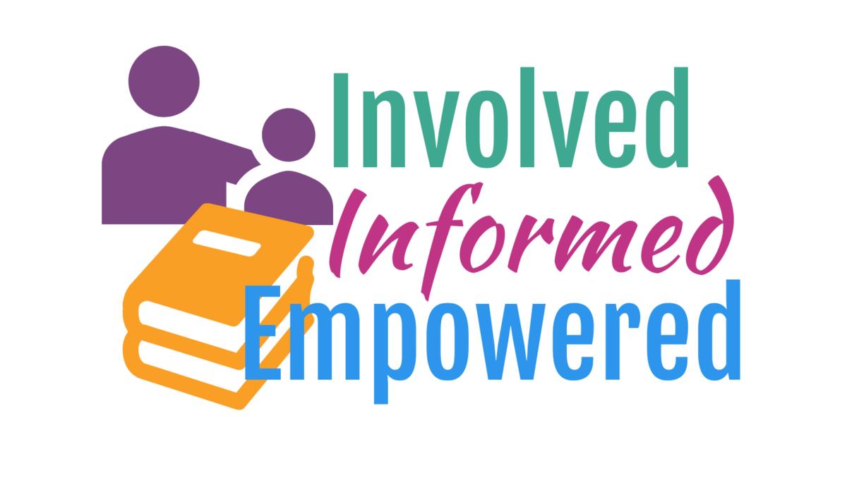 Informed, Involved, Empowered logo