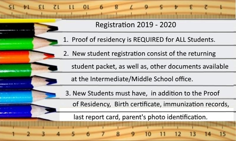 IS/MS Registration Packet 2019-2020 Thumbnail Image