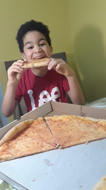 D.C. With his winning Pizza prize