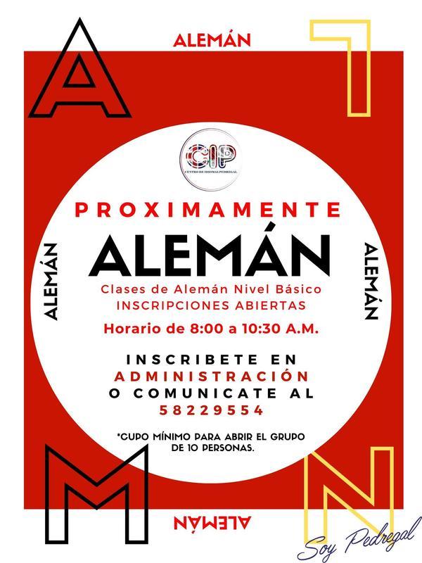 PROXIMAMENTE CLASES DE ALEMÁN Featured Photo