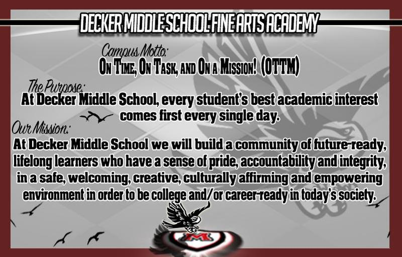 Decker Middle School Fine Arts Academy Thumbnail Image