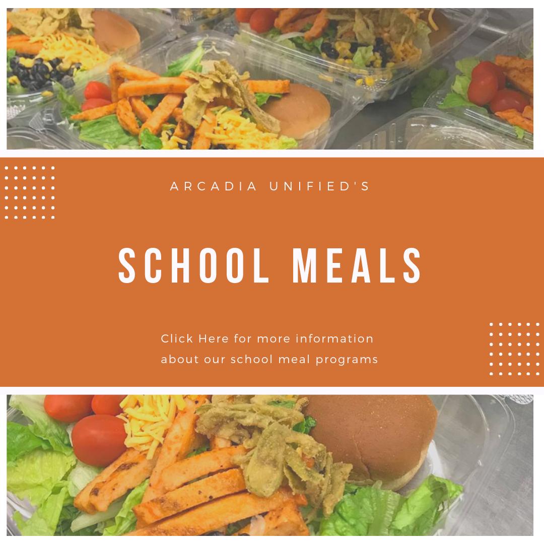 Schools Meals Banner