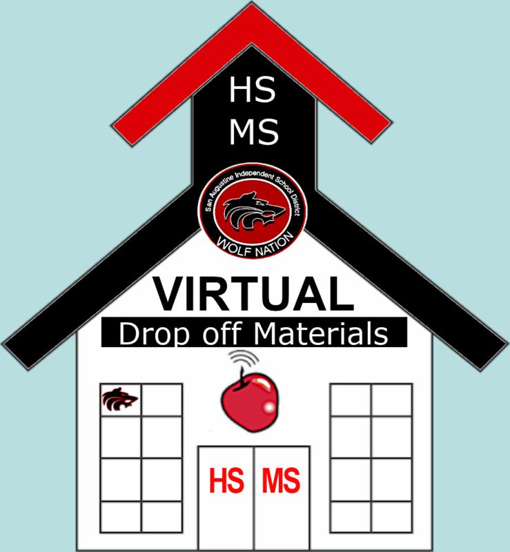 Virtual School House Logo Drop off Materials