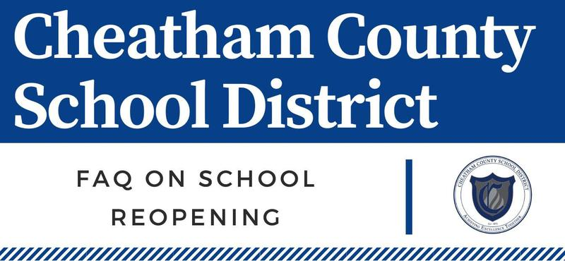 FAQ on school reopening