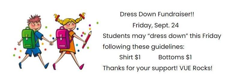 Dress Down Fundraiser Featured Photo