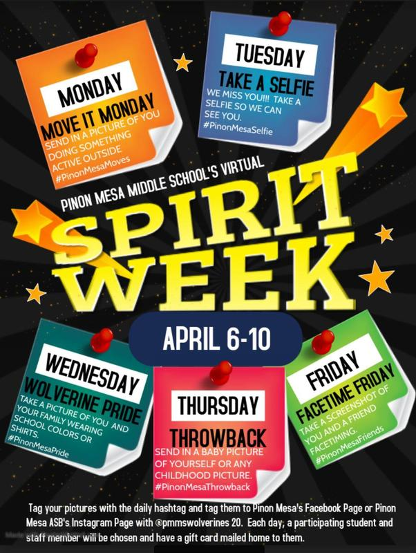 Get ready for a VIRTUAL SPIRIT WEEK! Featured Photo