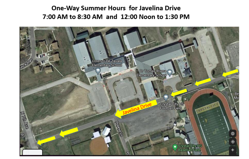 One-way Summer Hours for Javelina Drive Featured Photo