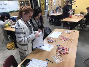 CCHS Link Leaders get ready for National Kindness Day