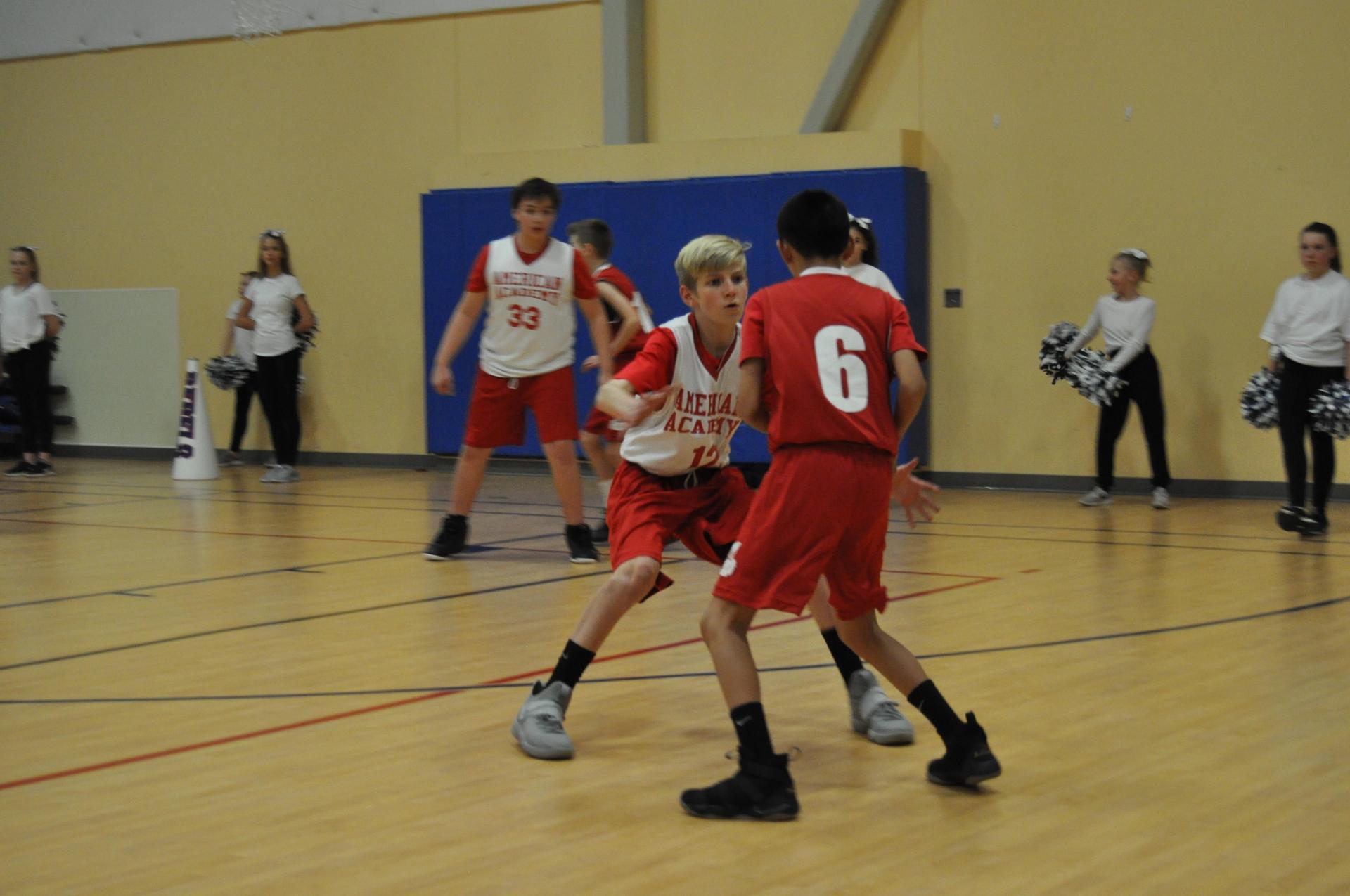 boys basketball defense