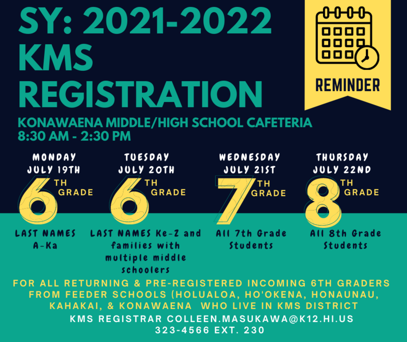 Black and Green info graphic with information pertaining to registration