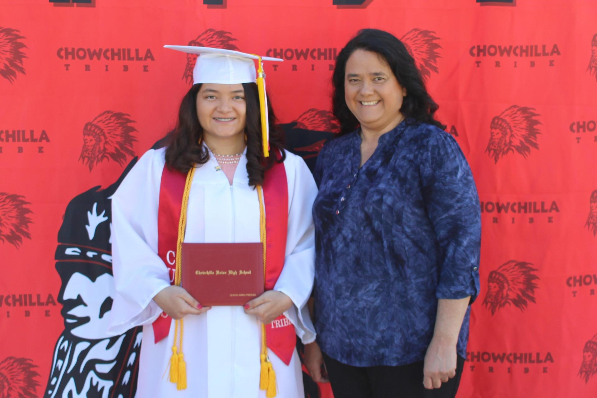 Leanna Perales, CSF and family