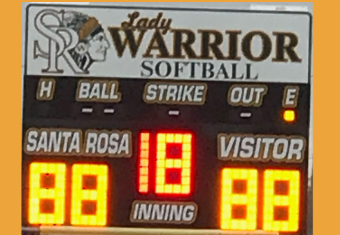 New Softball Scoreboard Featured Photo