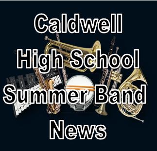 CHS Summer Band News Featured Photo