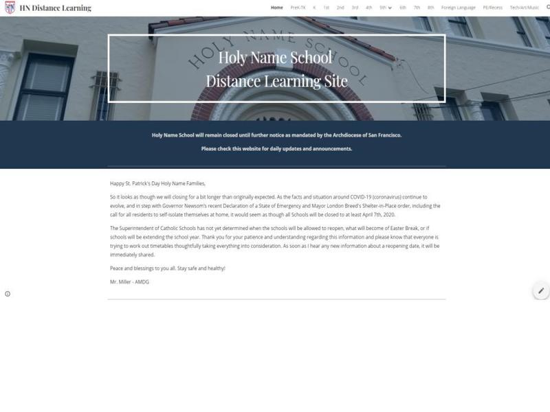 HN Distance Learning Site Thumbnail Image