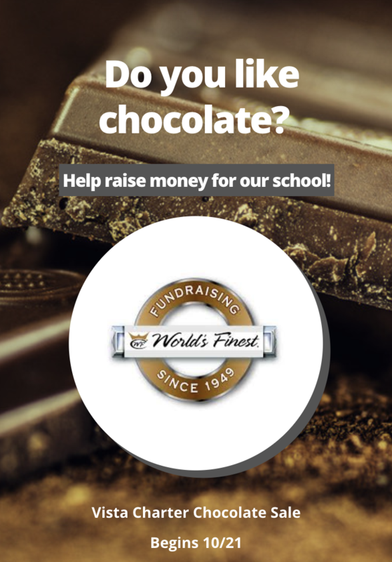 chocolate fundraiser flyer