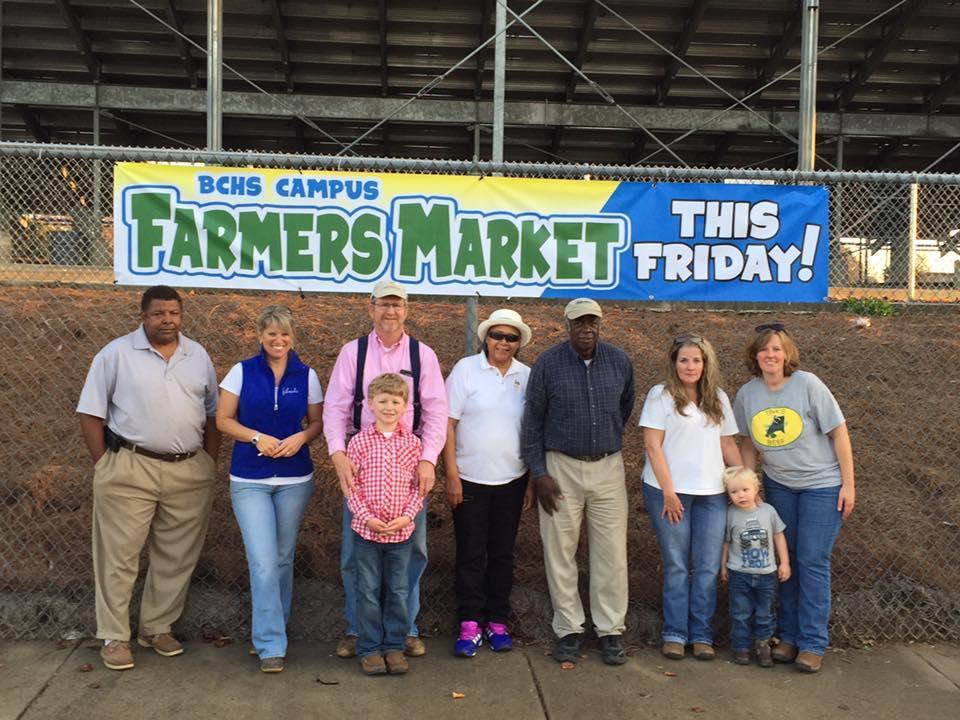 Farmers at Farmers market