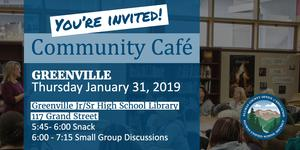 Announcement for Community Cafe