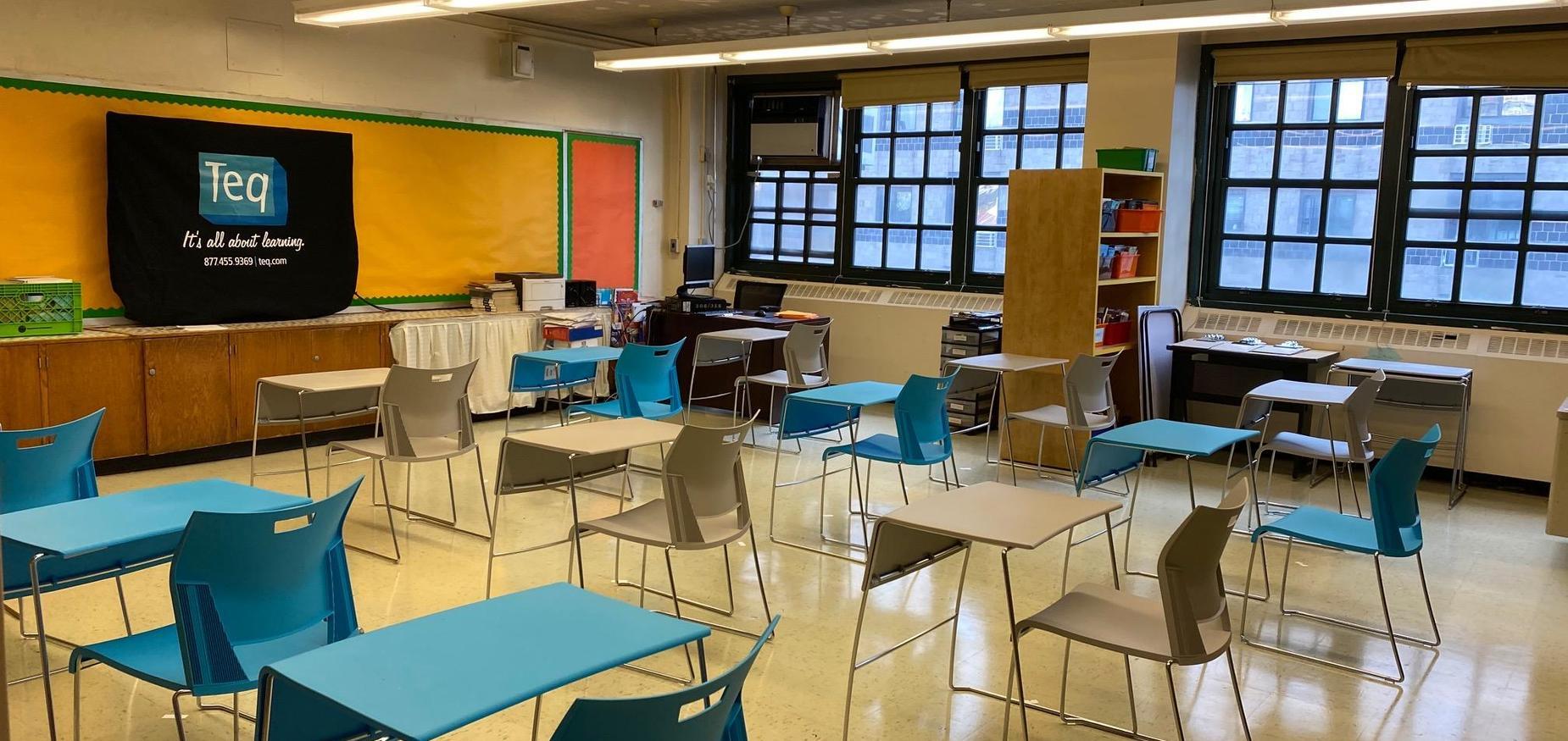 8th grade classroom