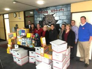 Office Depot and City Auto Plaza Donate more than $2,000 in Classroom Supplies to McKinley Elementary