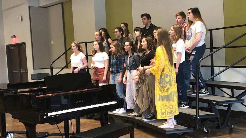 Chorus performs in Nashville