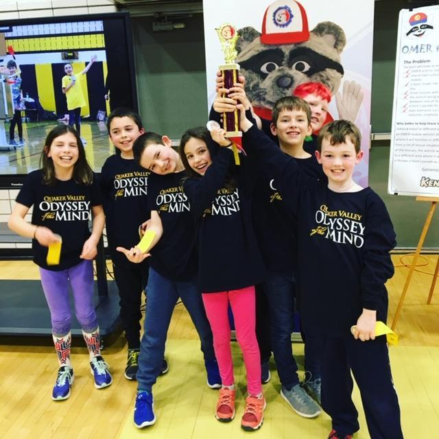 Odyssey of the Mind Regional Competition 2019