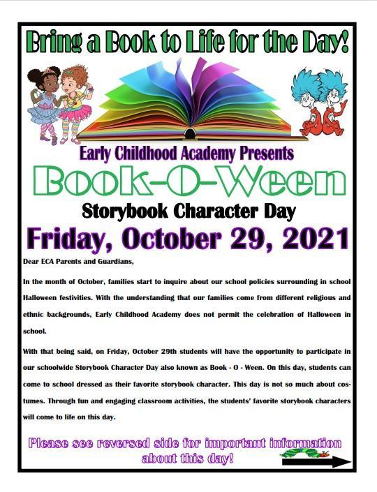 Book-O-Ween: Storybook Character Day Featured Photo