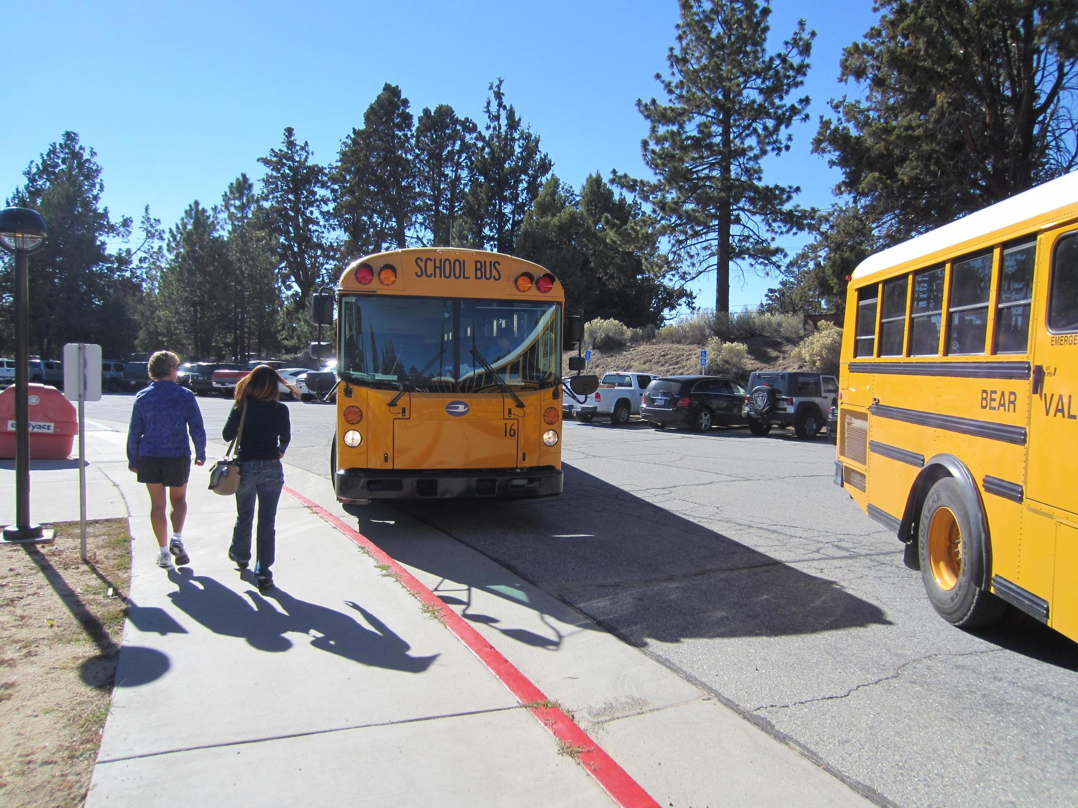 Home Transportation Bear Valley Unified School District