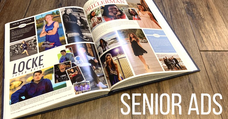Order a Senior Ad for the 2020-2021 Yearbook Thumbnail Image