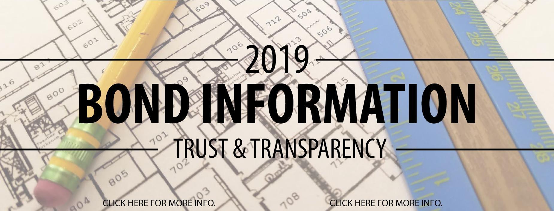 2019 Bond Information Banner