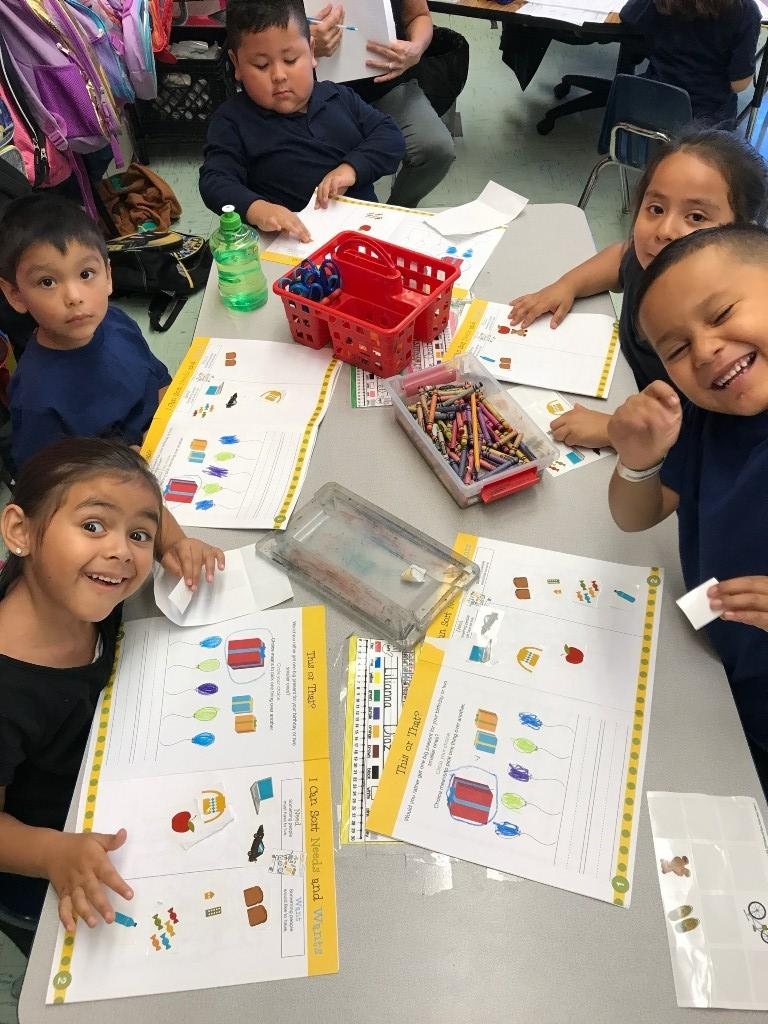 Kinder works on wants and needs