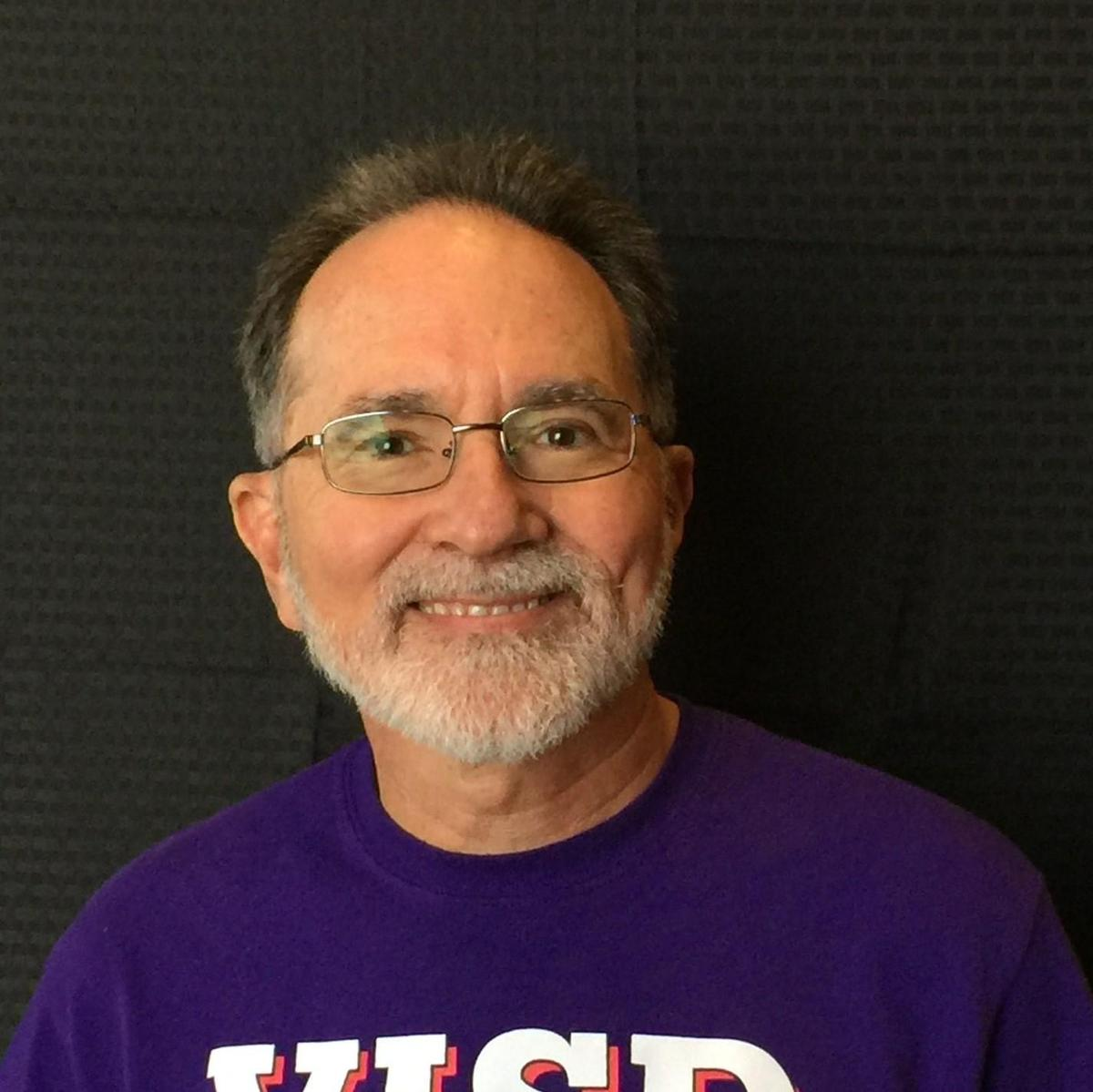 donald tharp guitar instructor and district facilitator for cultural arts