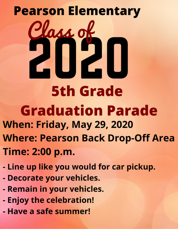 5th Grade Graduation Parade - Click Here for More Information Featured Photo