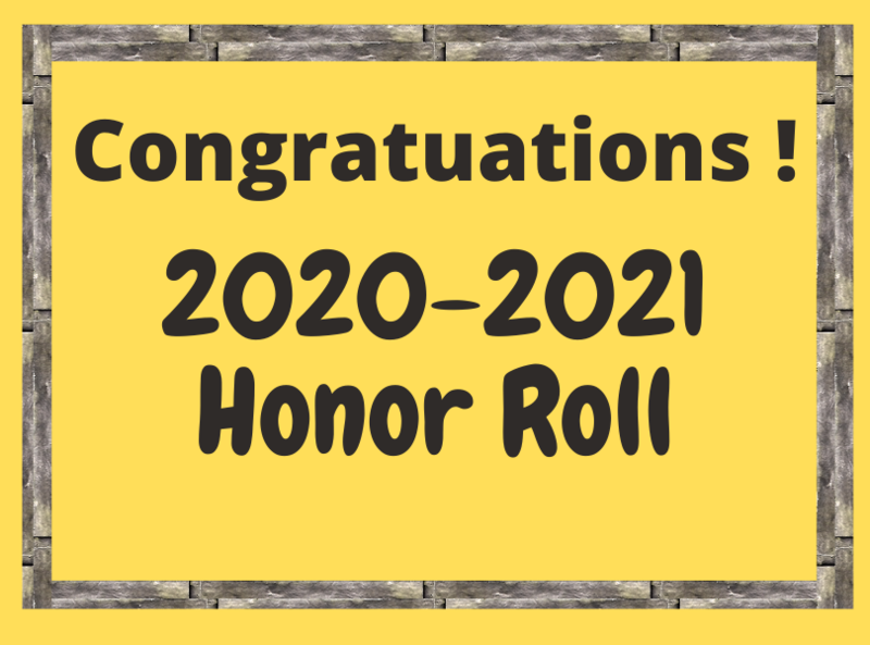 Honor Roll lists