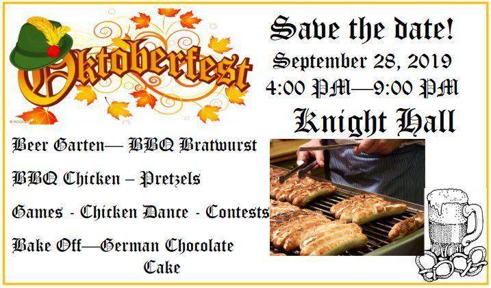 Oktoberfest - Save the Date Featured Photo