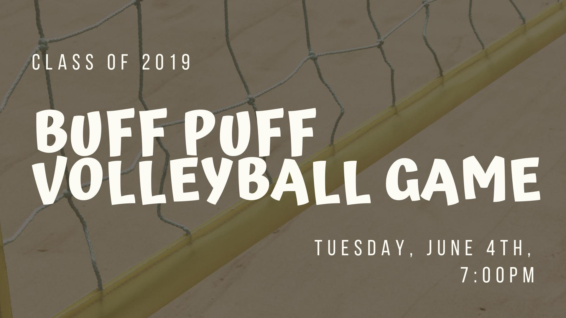 buff puff volleyball