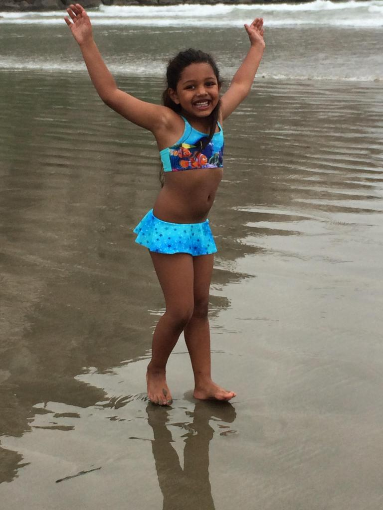 Platt family enjoying Morro Bay