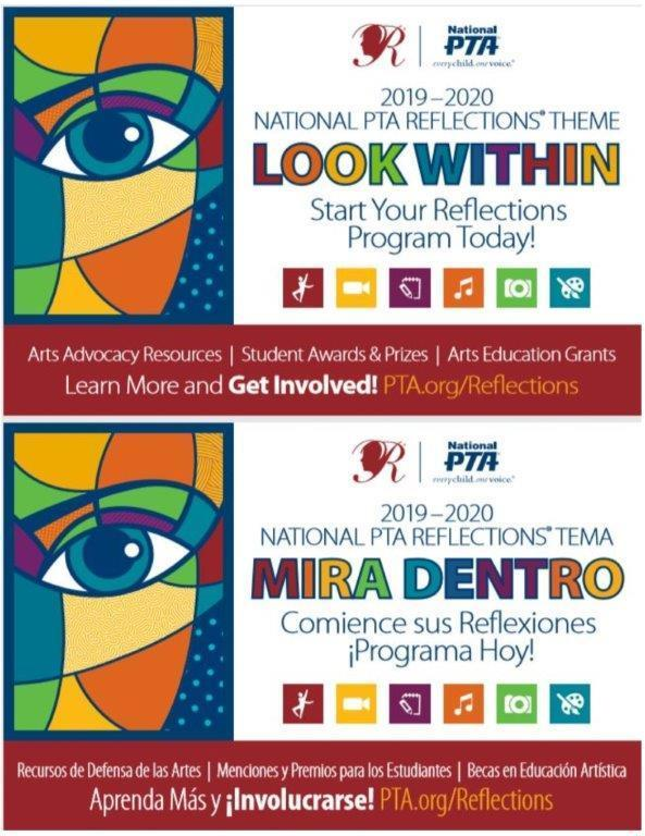 Image of 2019-20 Reflections Flyer