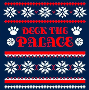 Deck the Palace