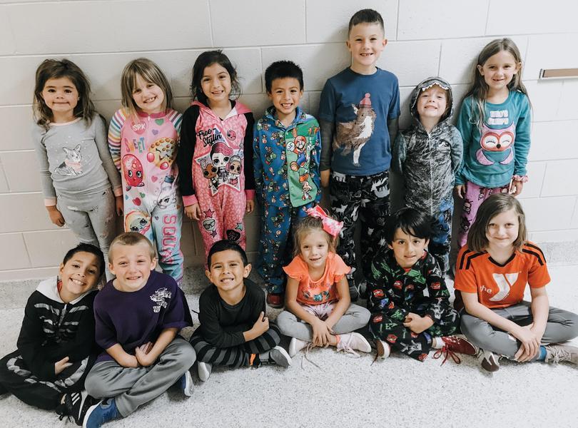 1st grade pajama day