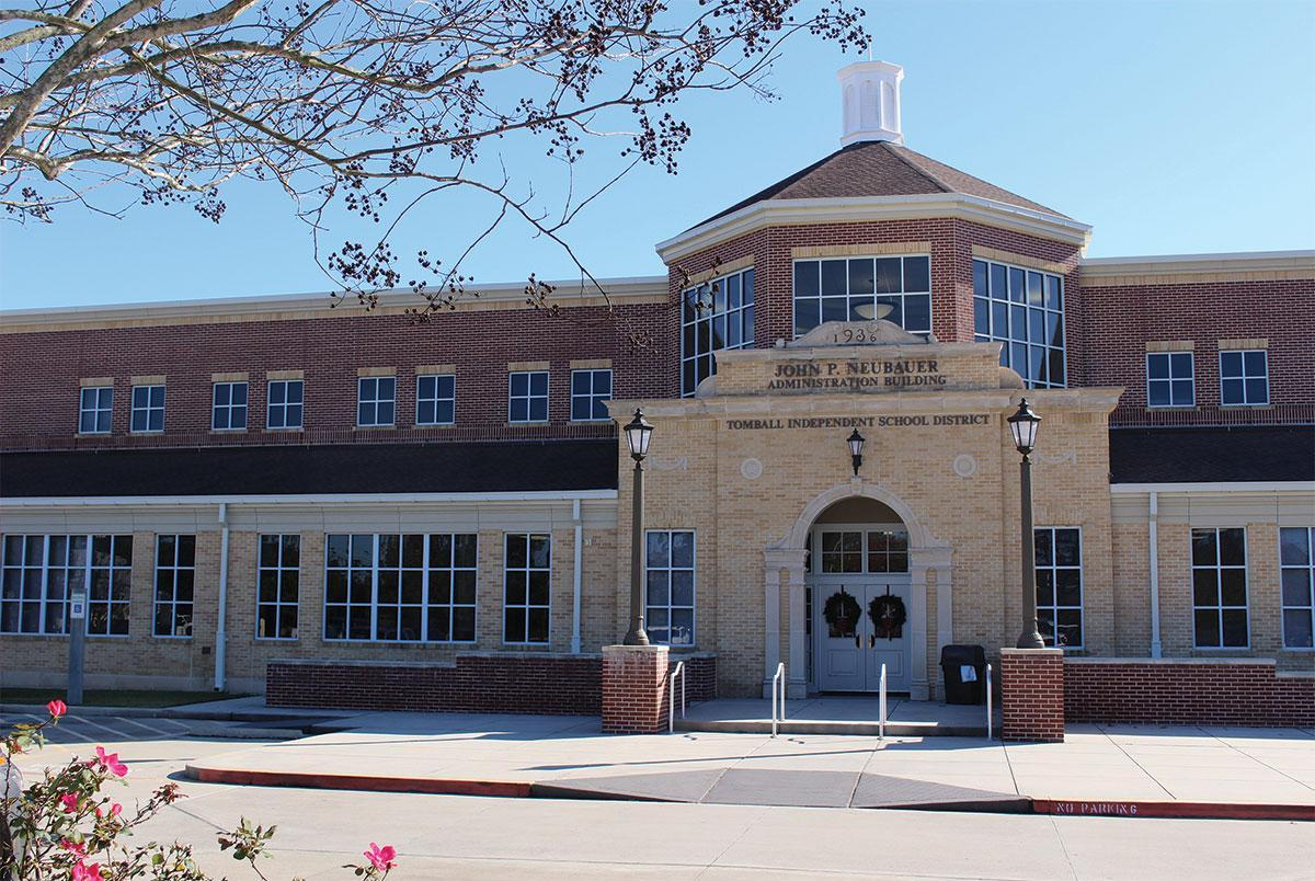Tomball ISD's John P. Neubauer Administration Building