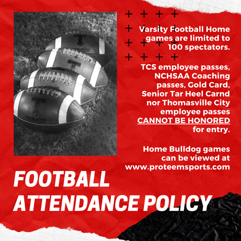 Football Attendance Policy