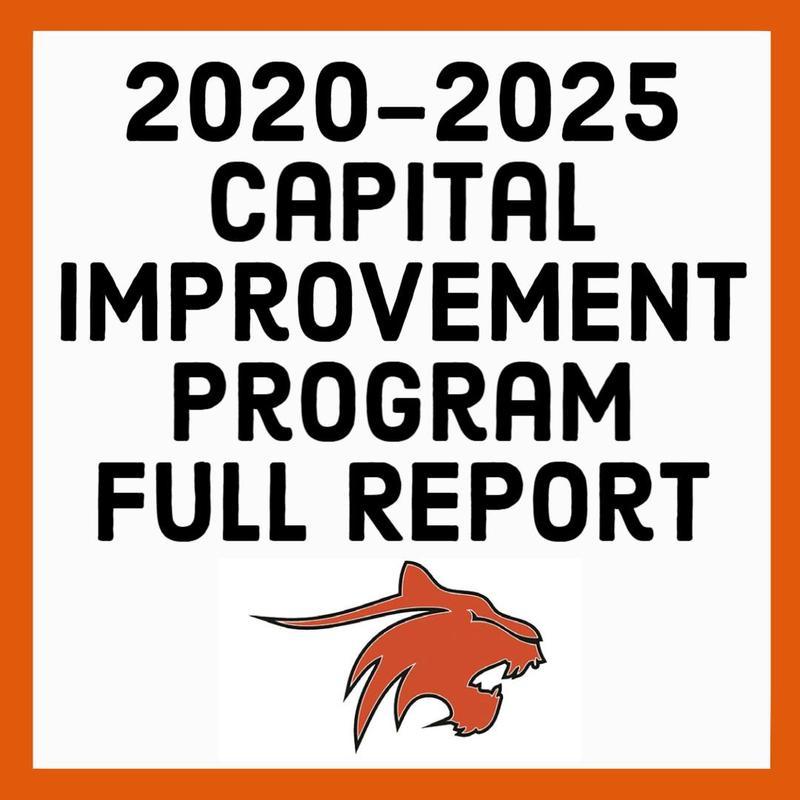2020-2025 Capital Improvement Program Full Report Featured Photo