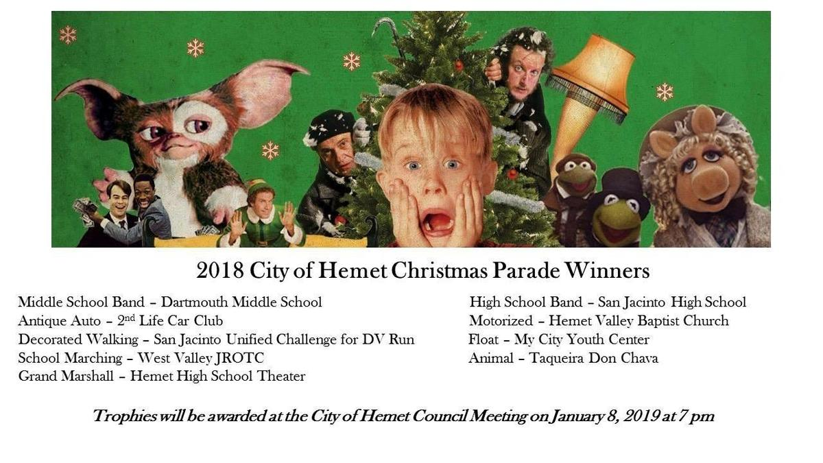 Hemet Christmas Parade 2019 Dartmouth Middle School