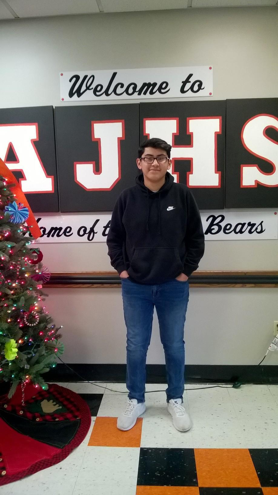 Student of the Month for November Image