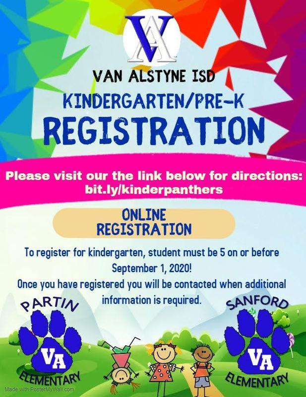 Kinder and Pre-K Registration Thumbnail Image
