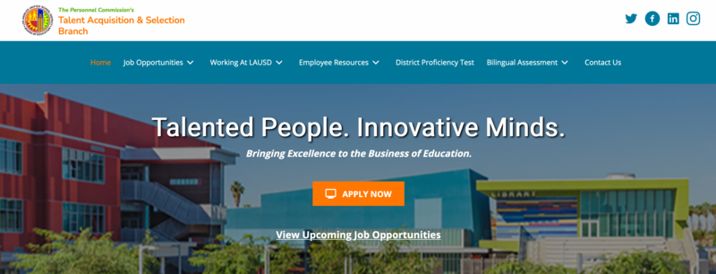 LAUSD Jobs Open to the Public Featured Photo